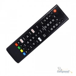 Controle Compatível LG Akb75675304 Tv Smart Com Netflix MAX9053